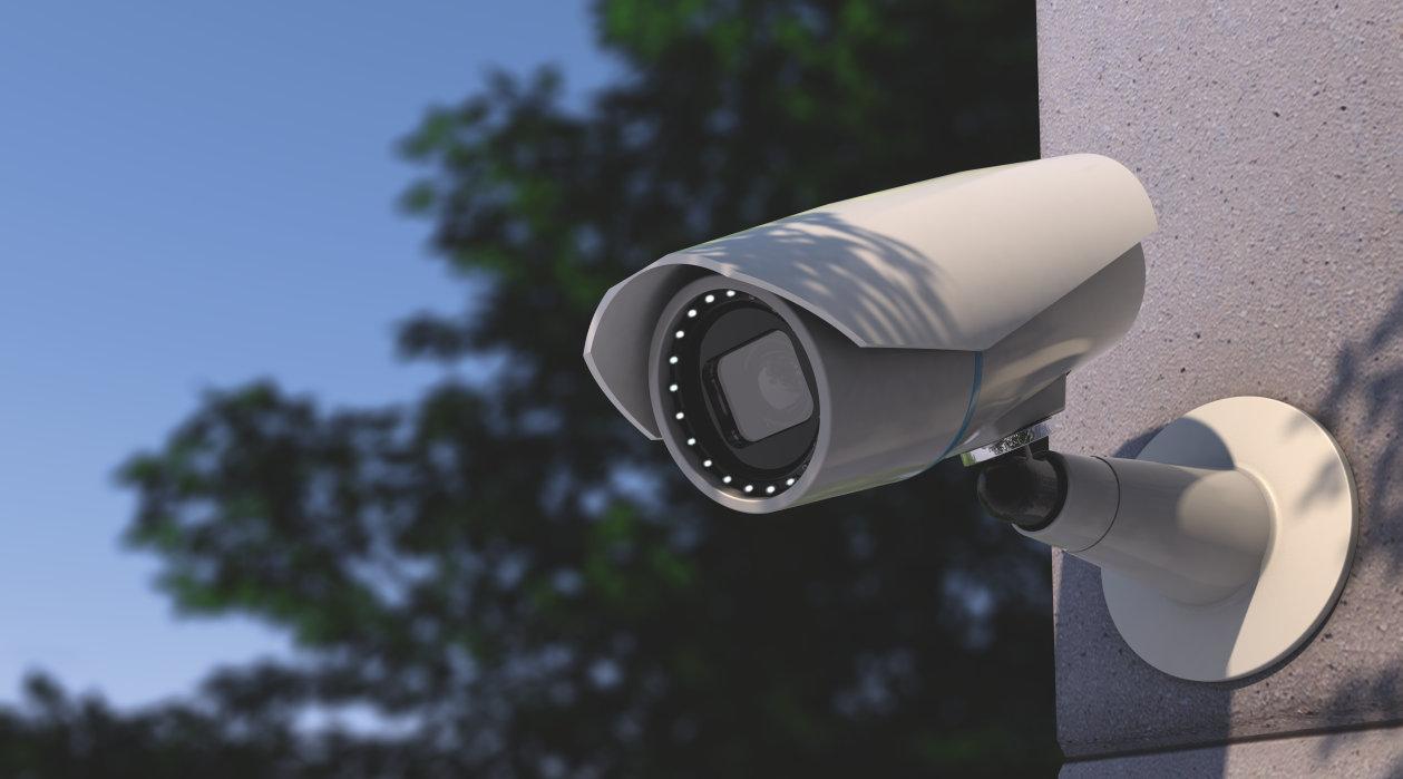 دوربین مداربسته دید در شب یا فرو سرخ